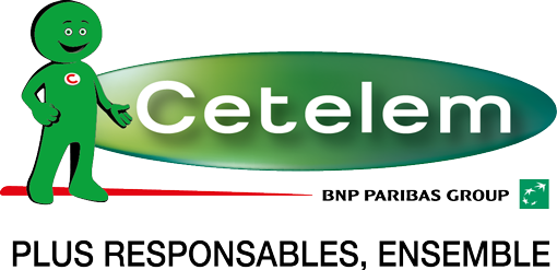 Logo de la société de pret voiture Cetelem